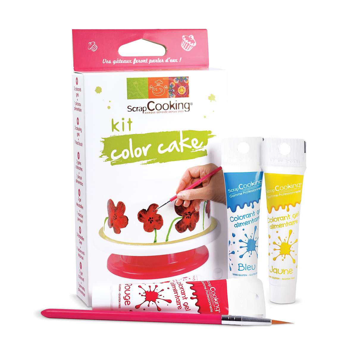 Image du produit Kit Color'cake - Scrapcooking