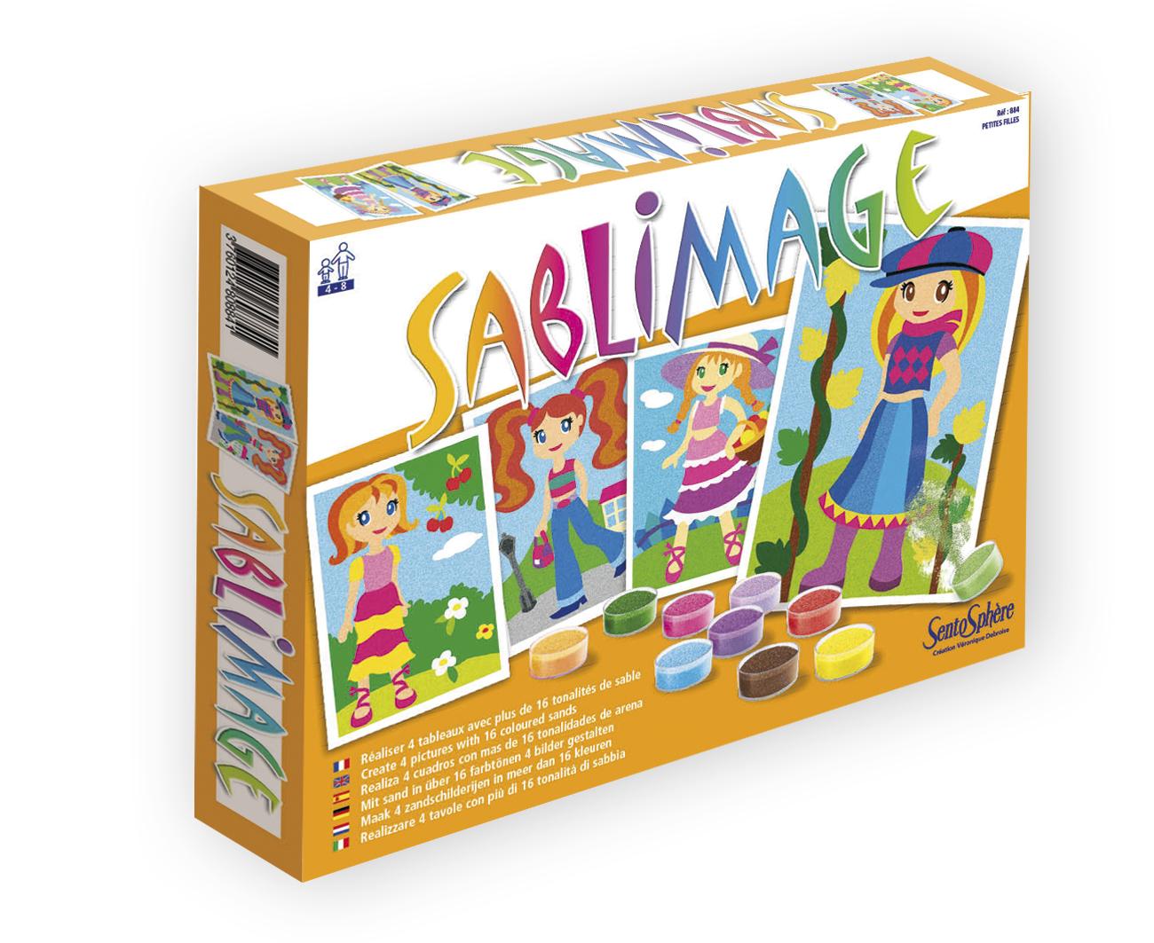 Kit creatif sablimage - petites filles