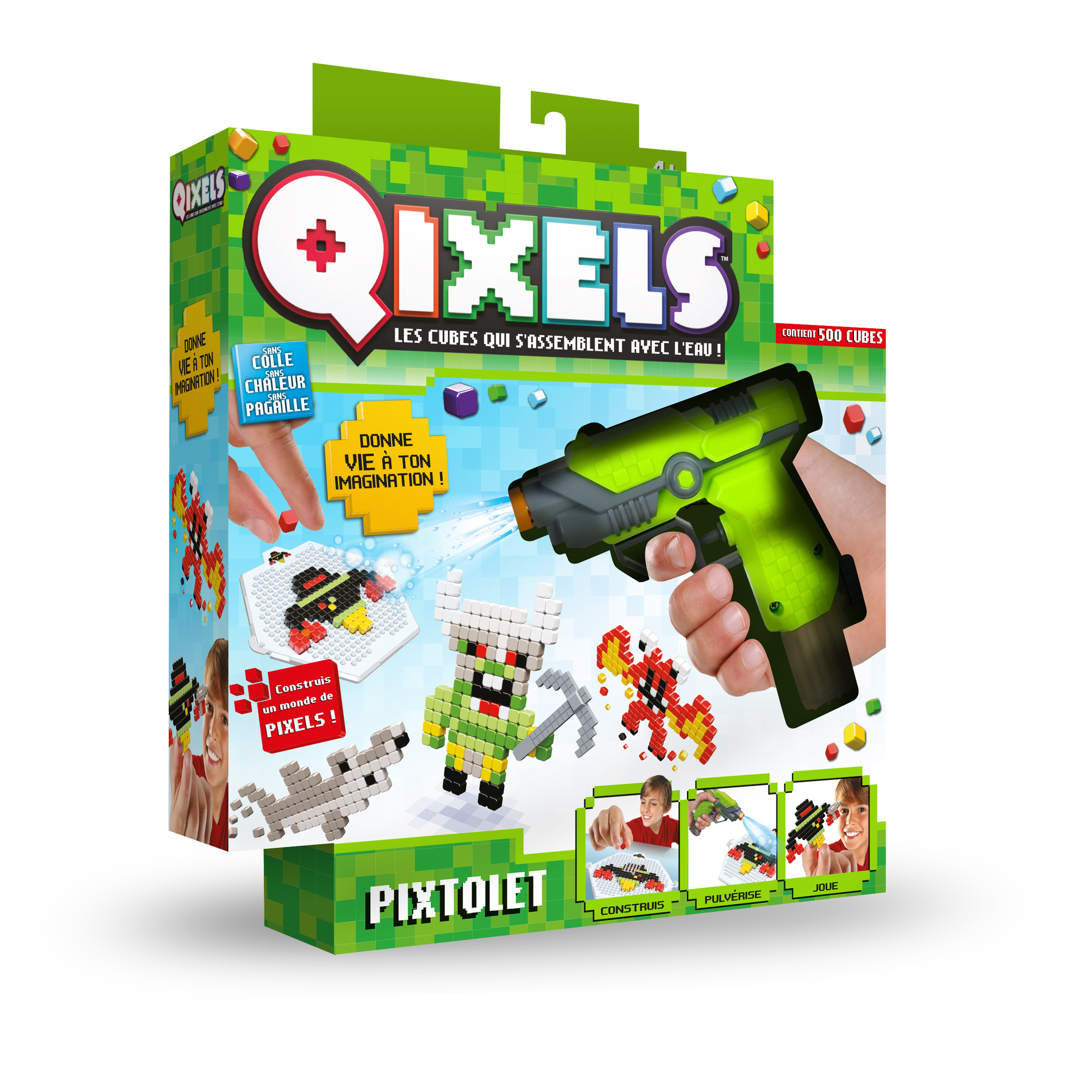 Kit création Qixels Fuse Blaster