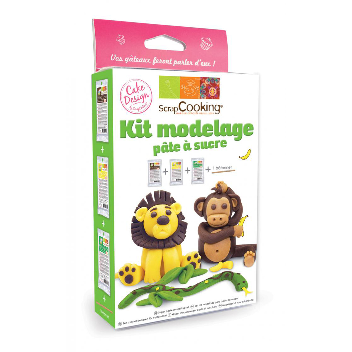 Image du produit Kit modelage - Jungle  - Scrapcooking
