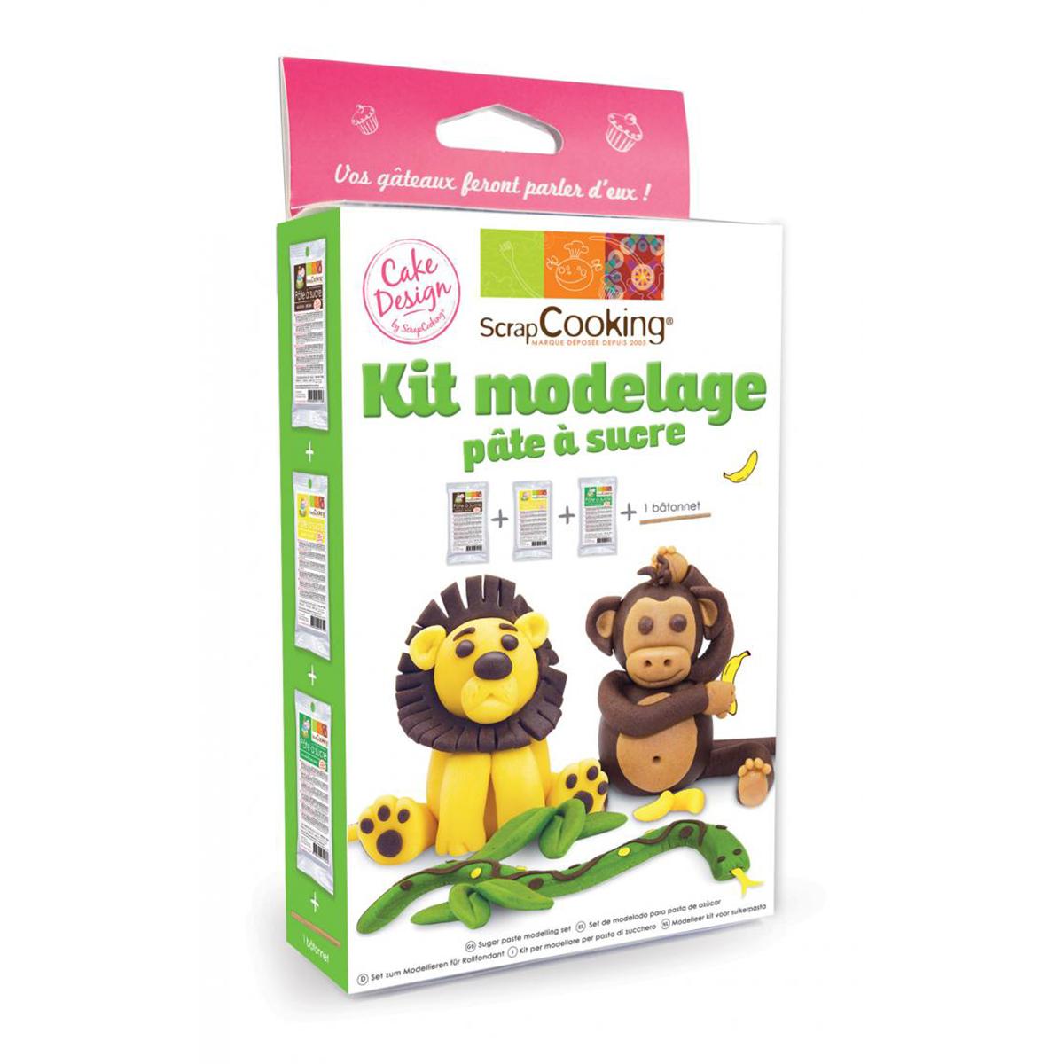 Image du produit Kit modelage - Jungle  - Scrapcooking
