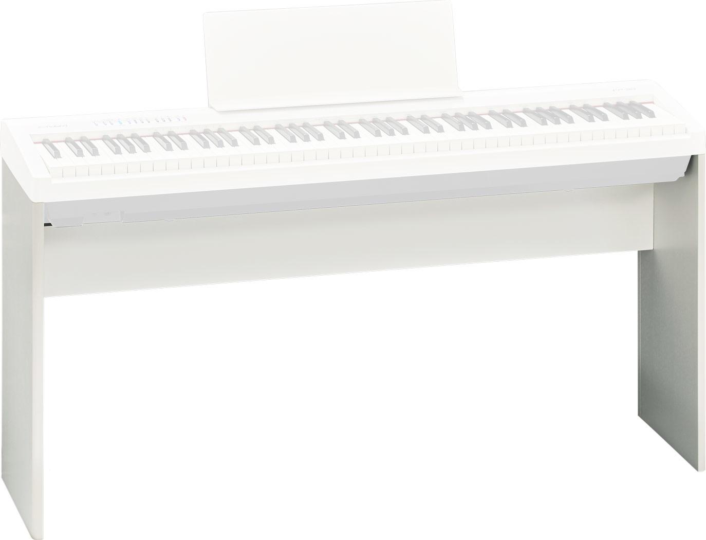 Roland KSC-70-WH trépied et support pour instruments de musique Blanc