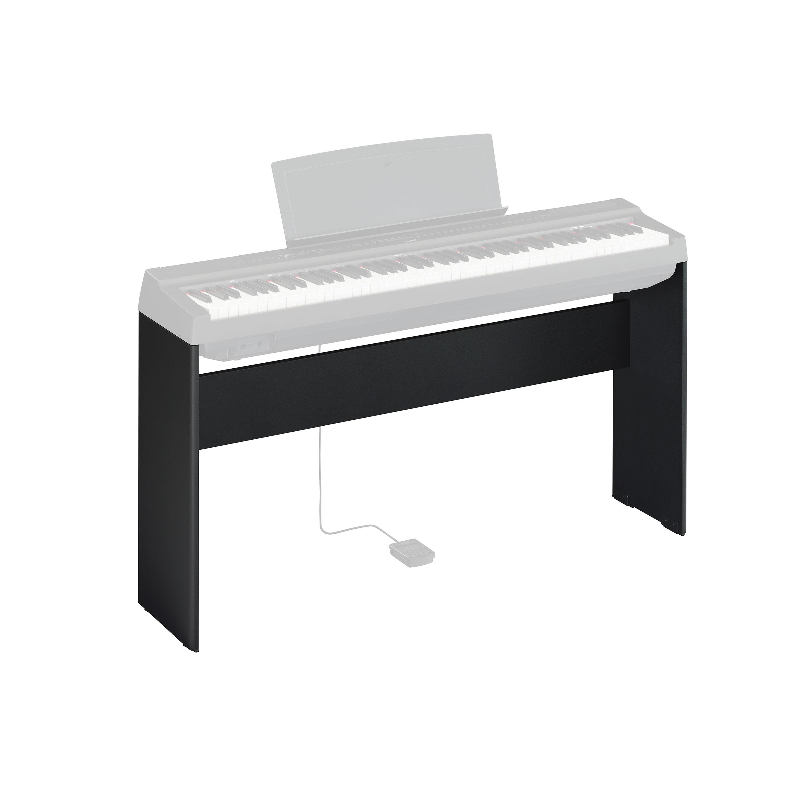 Yamaha - Support L125B noir pour piano P-125