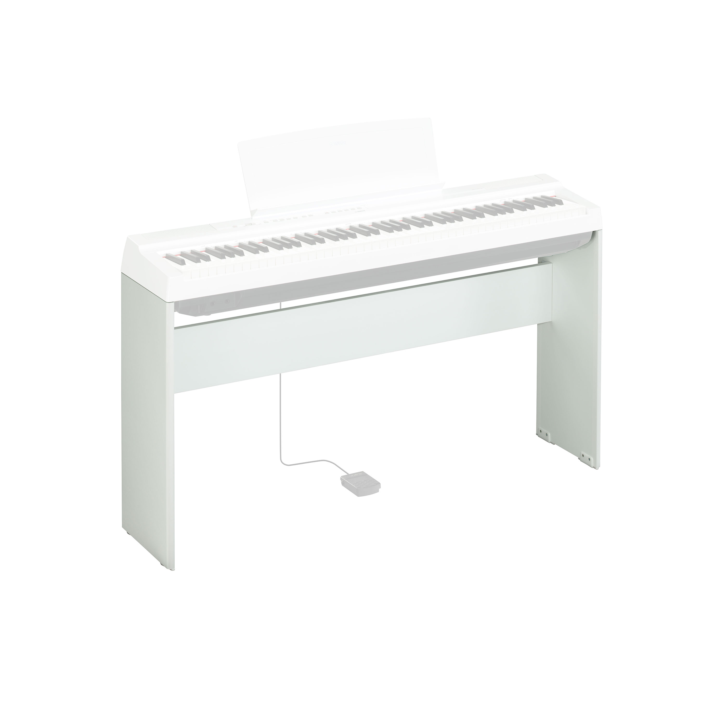 Yamaha - Support L125WH blanc pour piano P-125