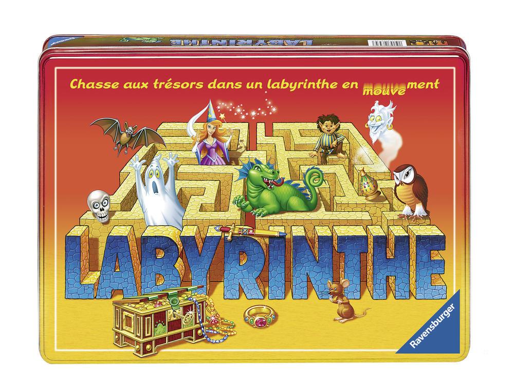 Labyrinthe - boite métal - Ravensburger