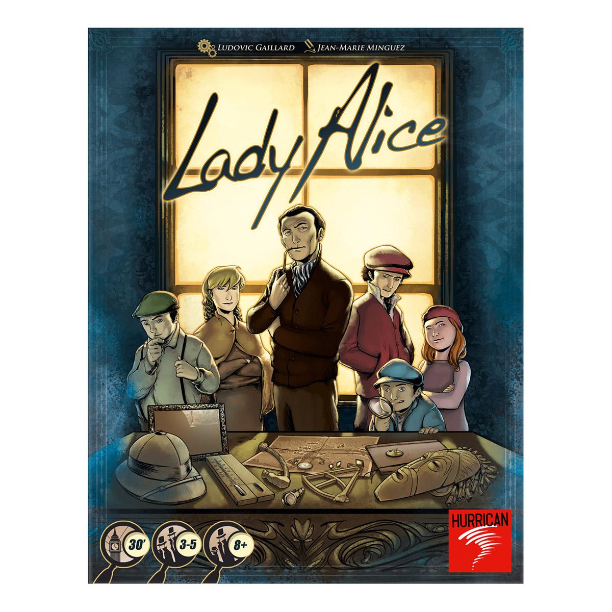 Lady Alice - jeu de plateau