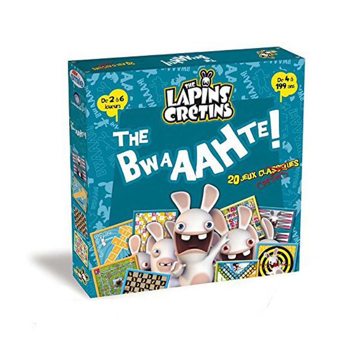 20 jeux Lapins Crétins - «The Bwaathe»