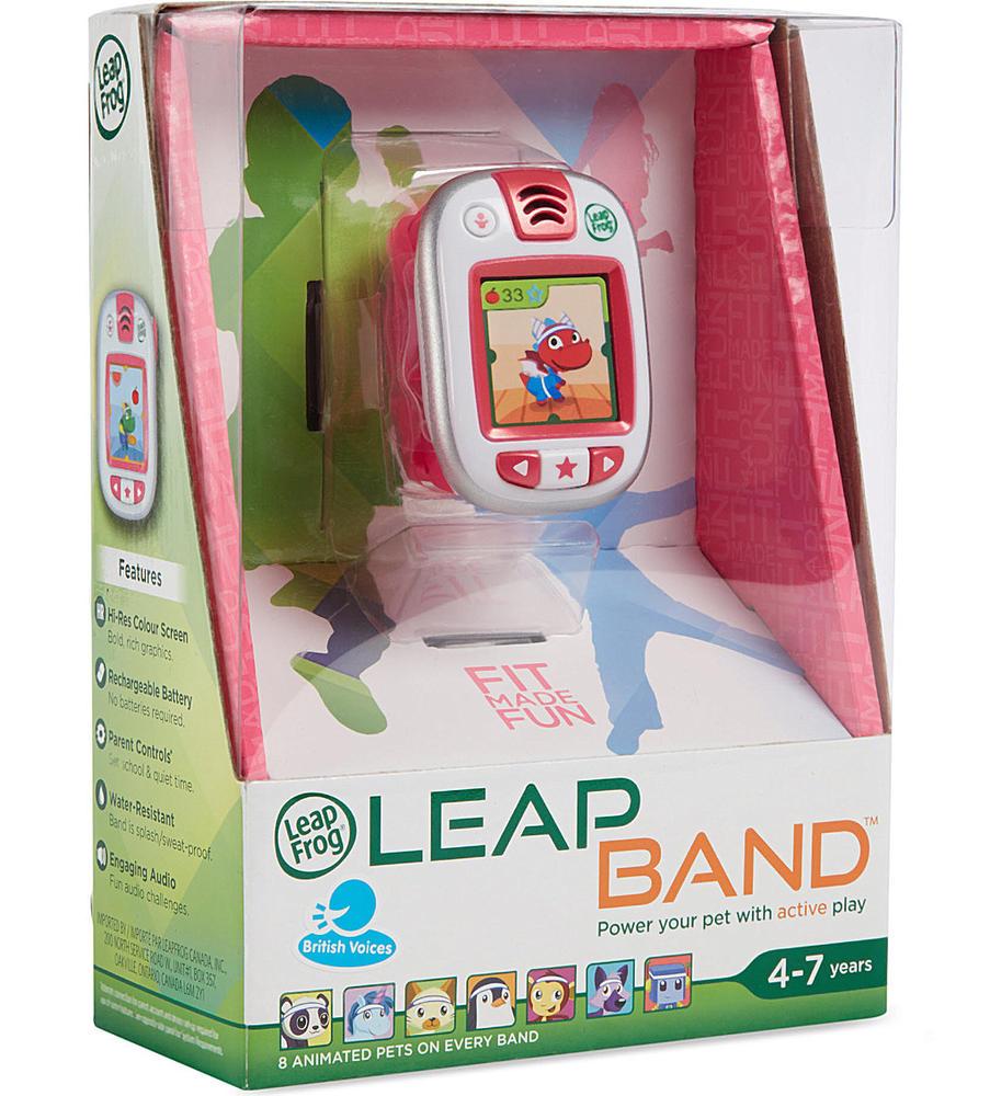 Leapband montre d'activités - rose