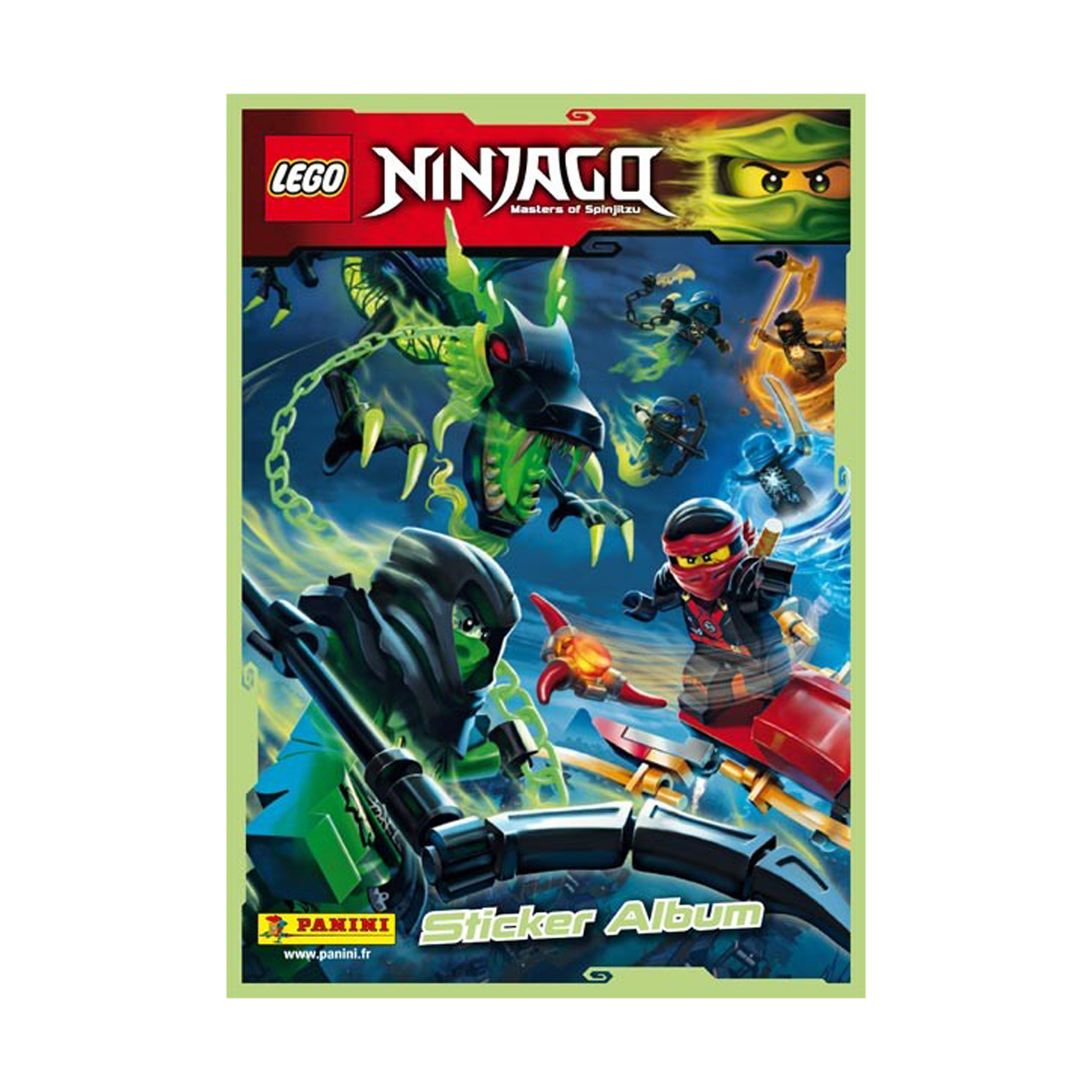 Album stickers Lego Ninjago