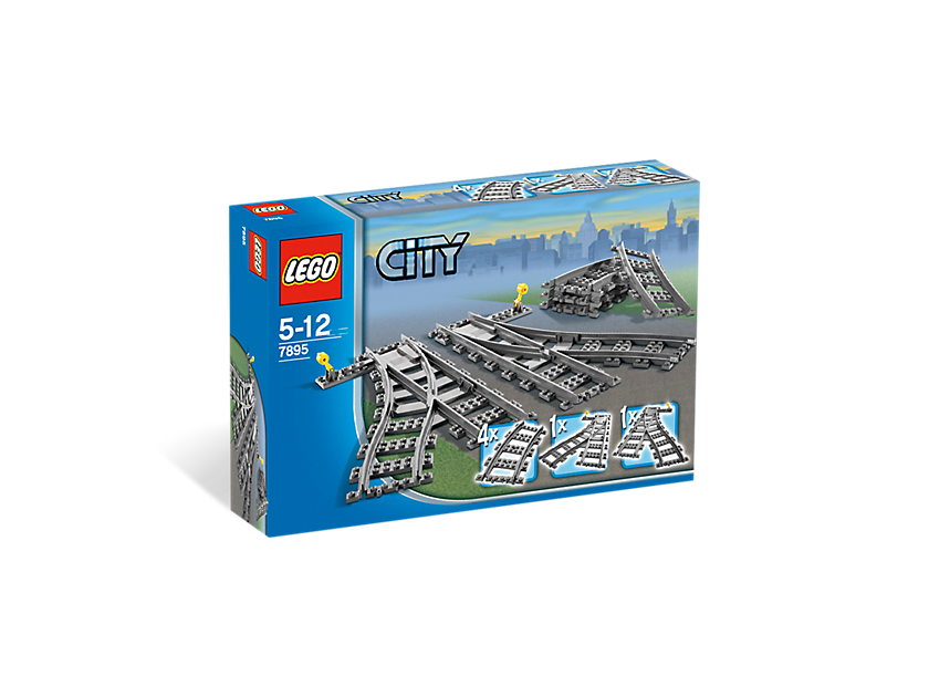 Les aiguillages - LEGO® City - 7895