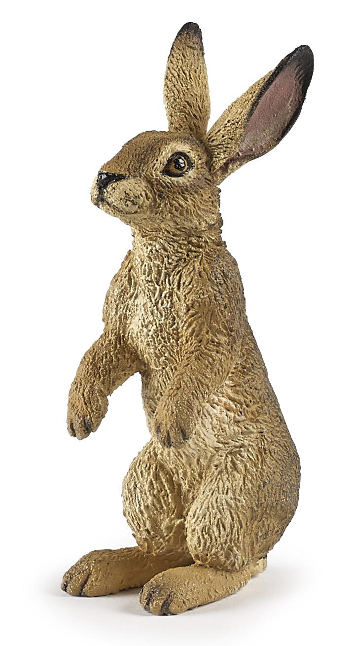 Figurine lièvre debout