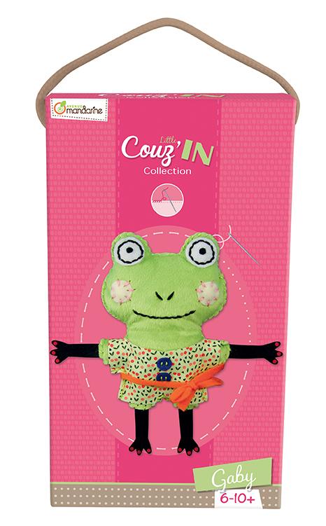 Little Couz'in - Gaby la grenouille - Avenue Mandarine