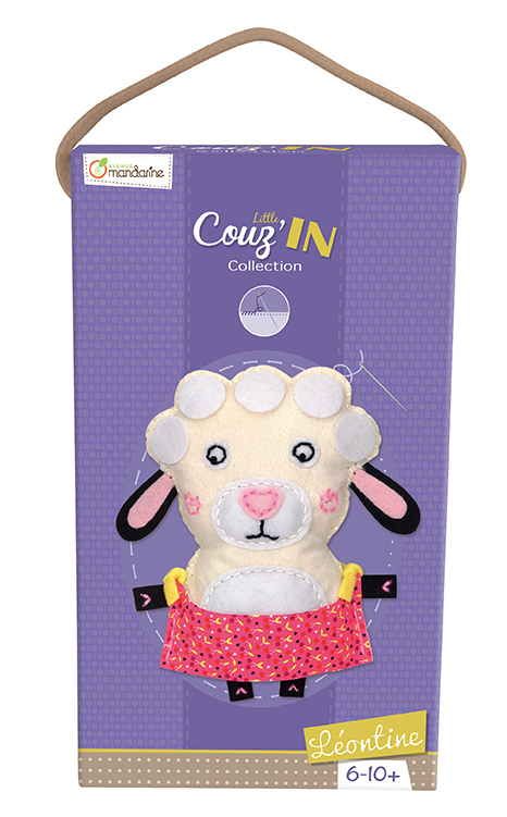 Little Couz'in - Léontine le mouton - Avenue Mandarine