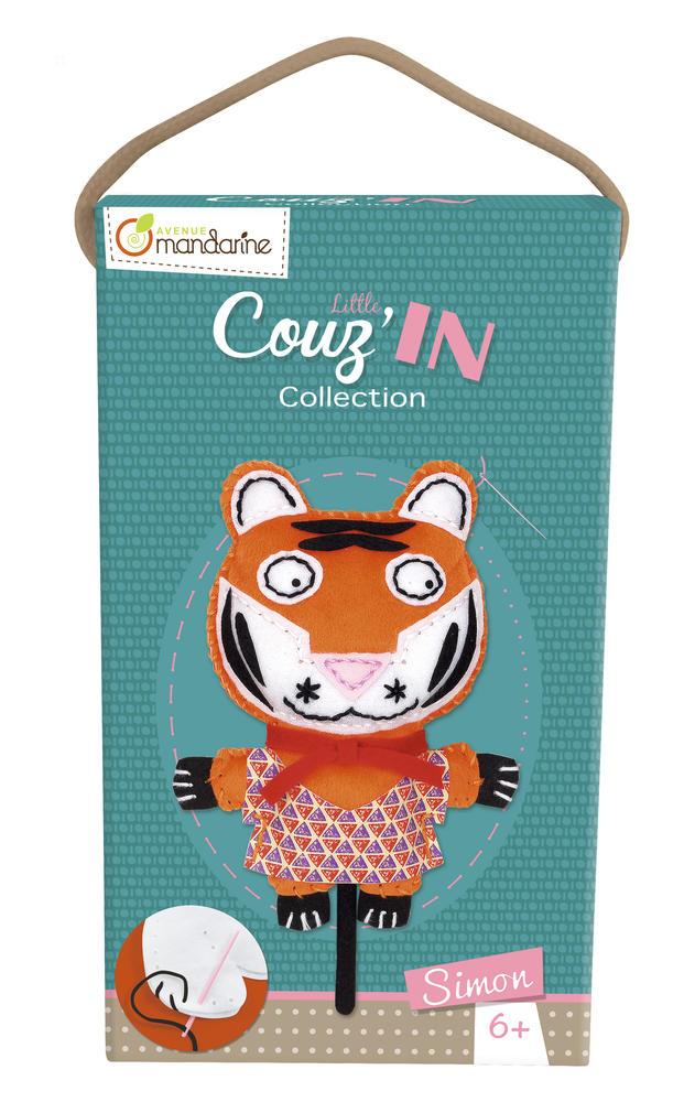 Little Couz'in - Simon le tigre - Avenue Mandarine