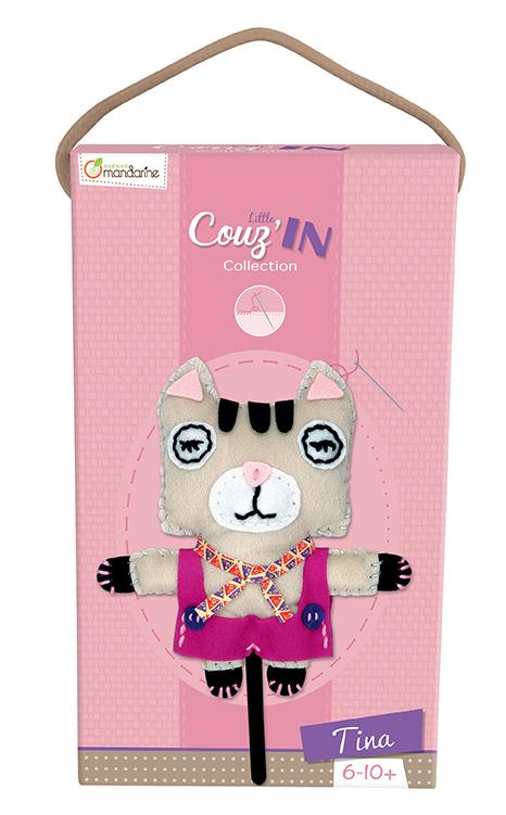Little Couz'in - Tina le chat - Avenue Mandarine