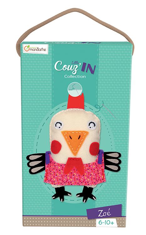 Little Couz'in - Zoé la poule - Avenue Mandarine