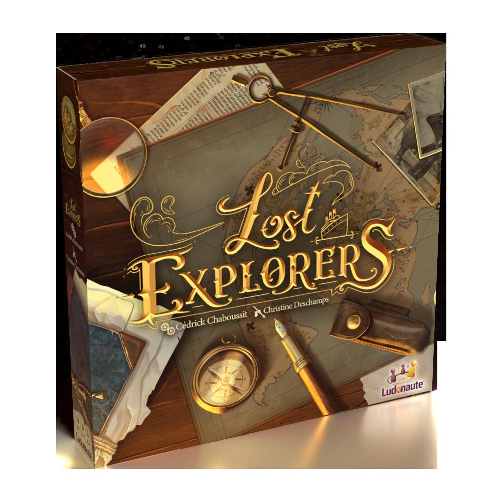 Boite de Lost explorers