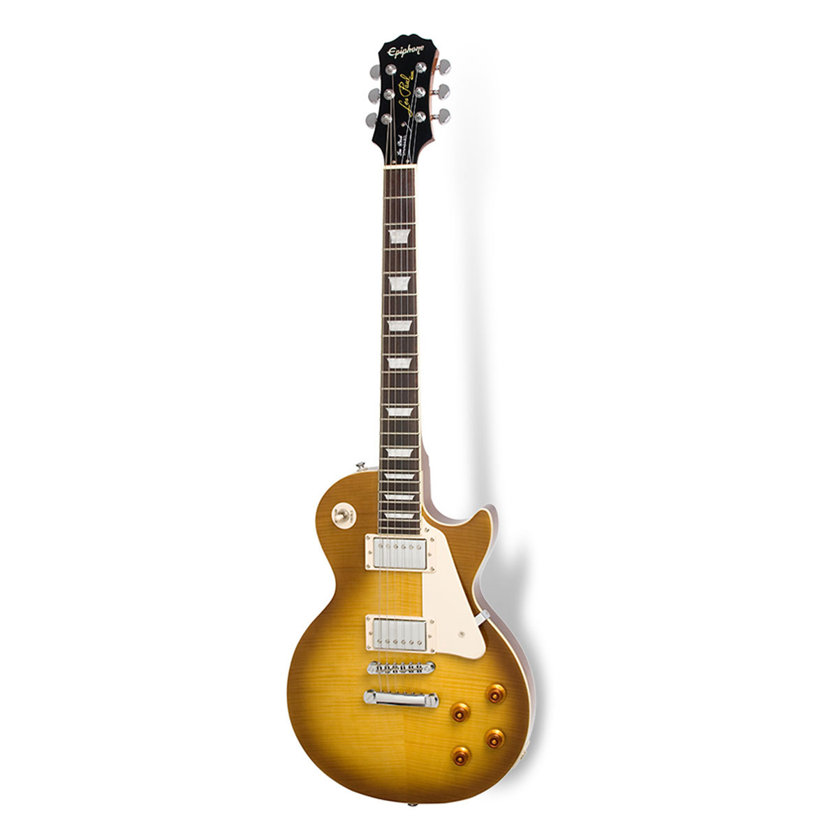 Epiphone - Les Paul Standard Plus top Pro Honey burst