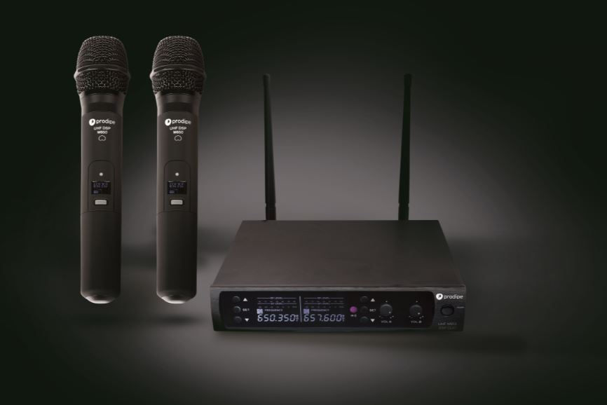 M850 DSP DUO 2 MICROS UHF