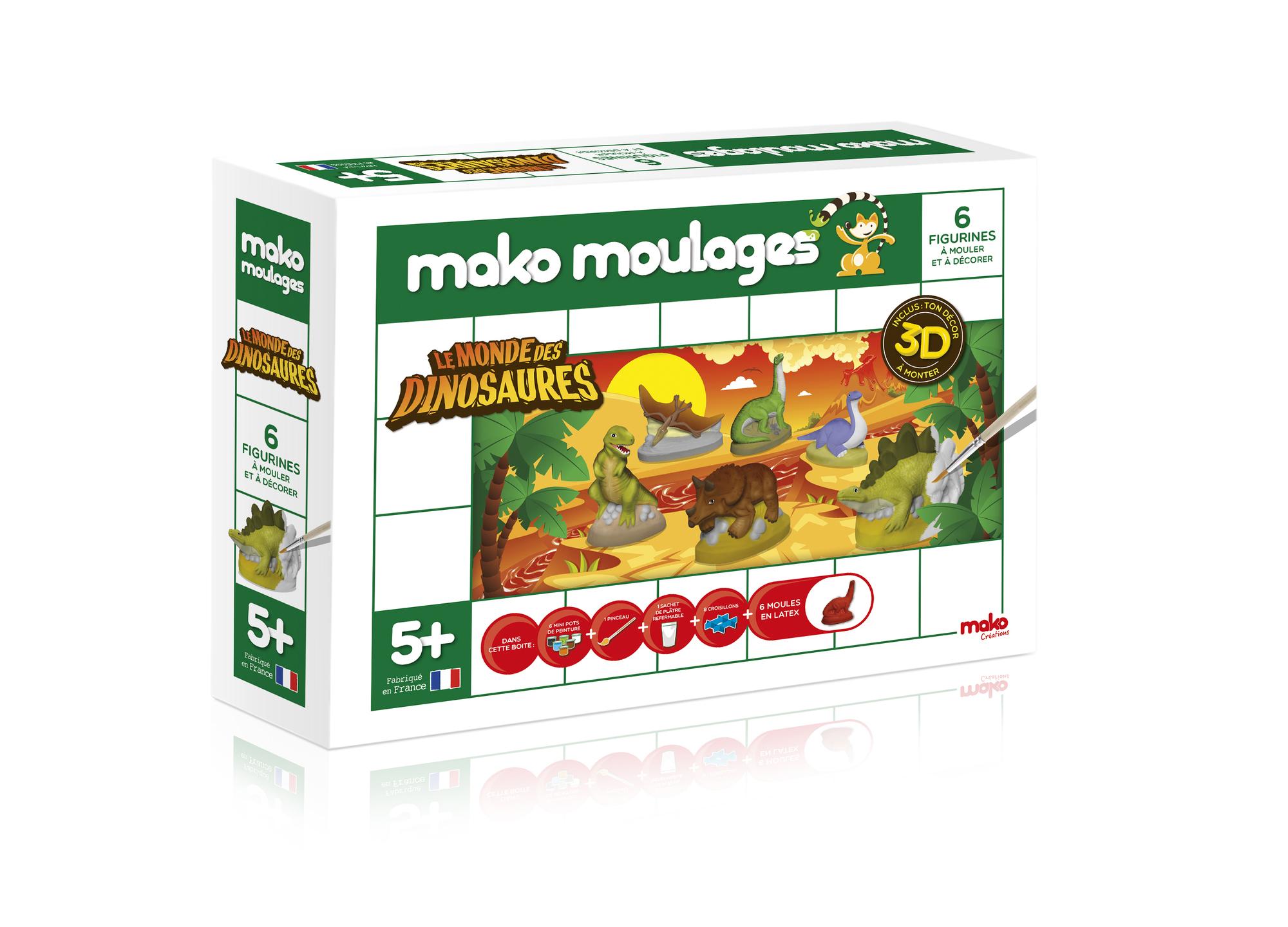 Mako Moulages - Le Monde des Dinosaures
