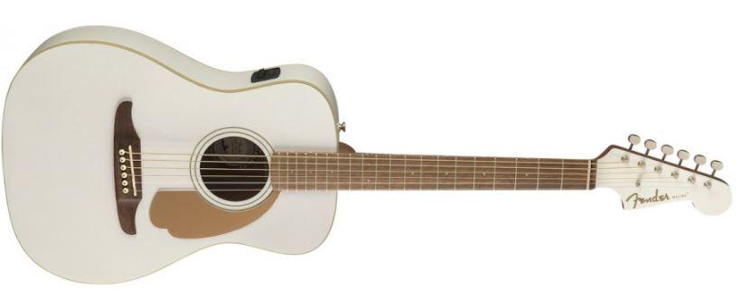 Fender - Malibu Player Artic Gold guitare électro-acoustique