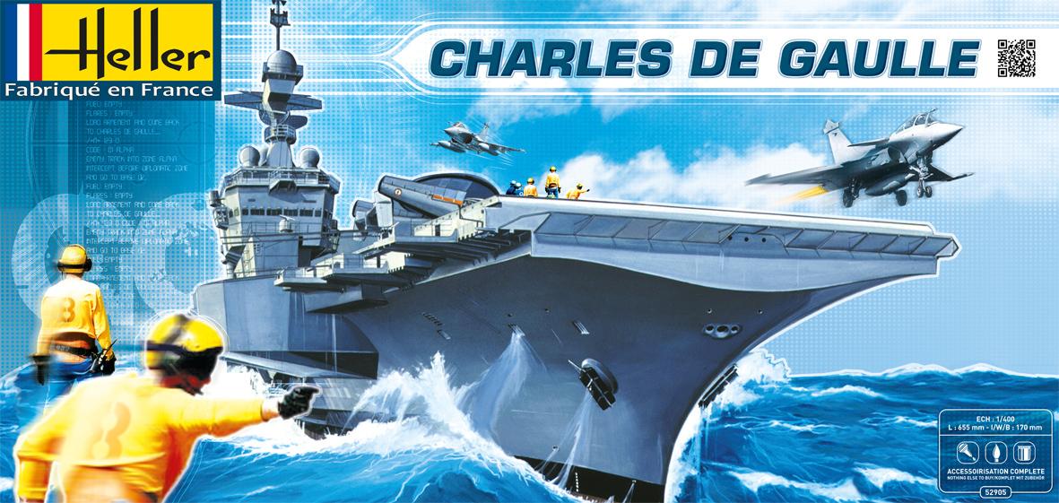 Maquette Charles de Gaulle - Heller