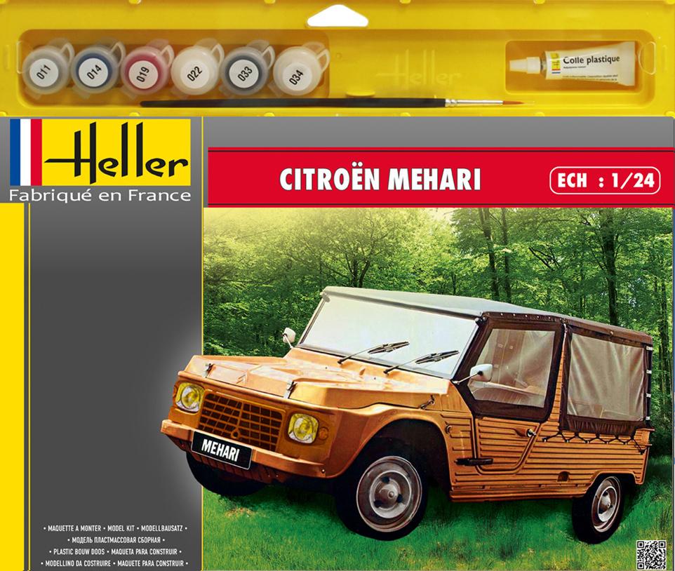 Maquette Citroën Mehari - Heller