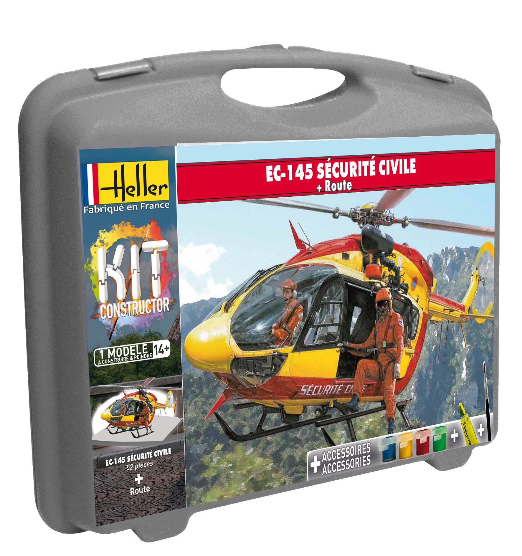 Maquette Eurocopter EC-145 sécurité civile - Heller