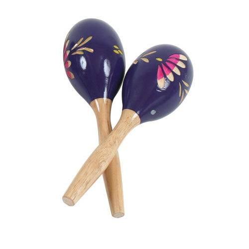 Fuzeau - Maracas violettes - 20 cm
