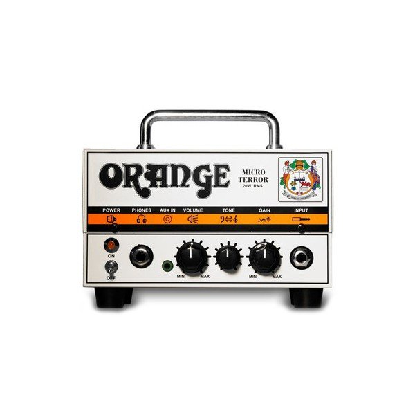 Orange - Tête d\'ampli Micro terror