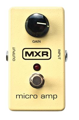 Mxr - Pédale préampli micro amp - M133