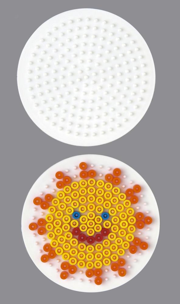 Plaque pour perles Hama - MIDI - ronde - 222