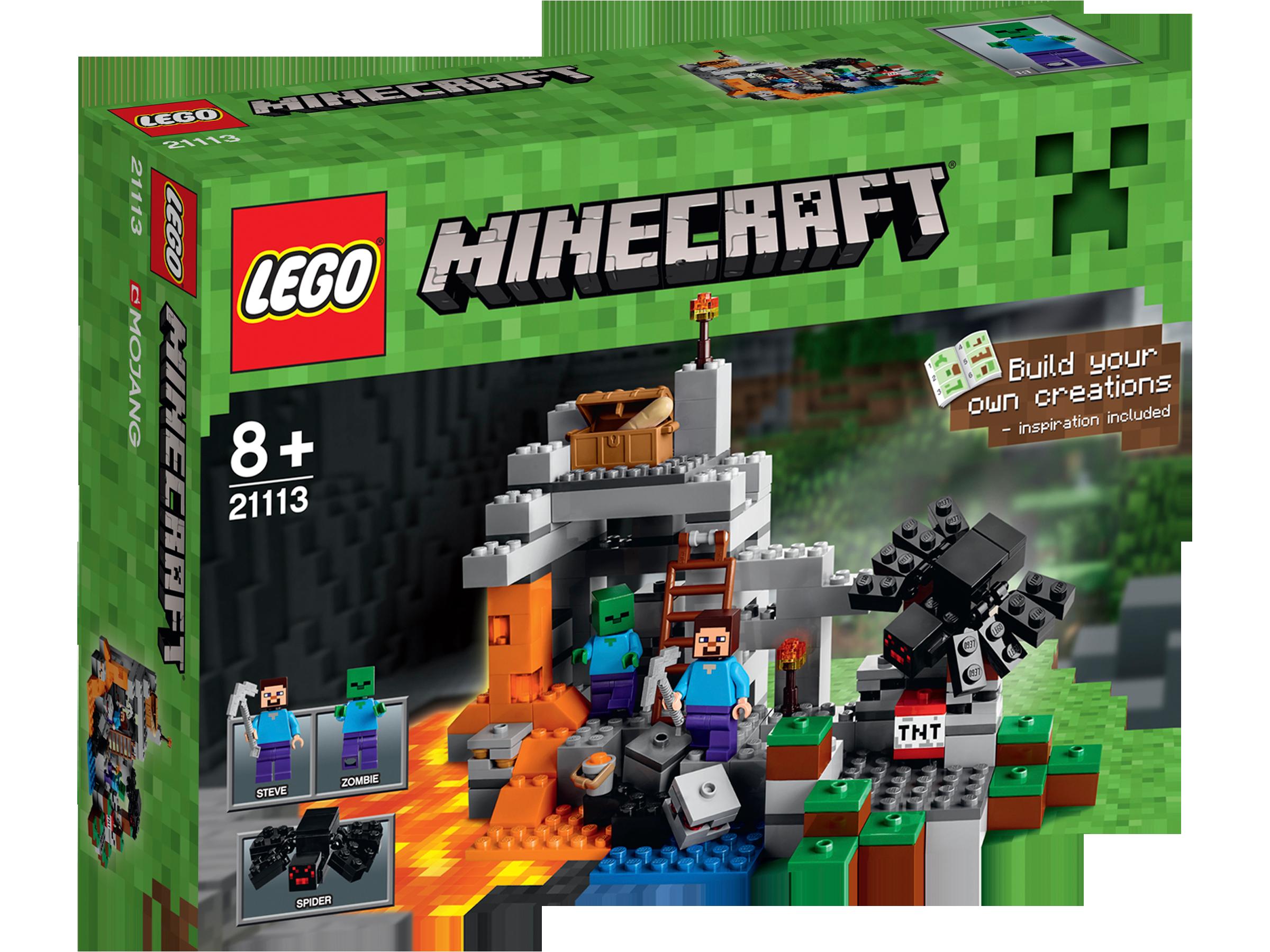 Micro-monde : La grotte - LEGO® Minecraft - 21113