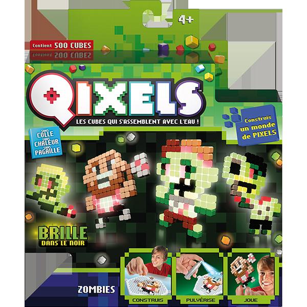 Mini kit Qixels zombies