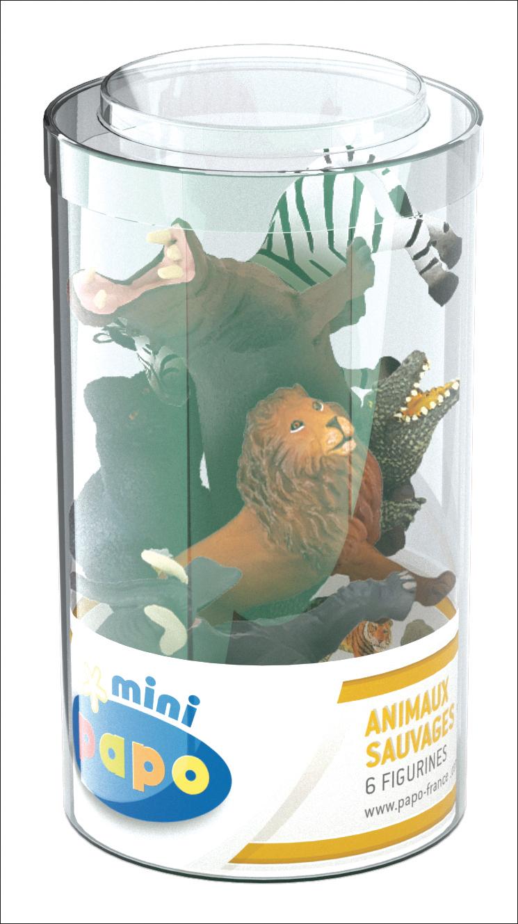 Mini tub's sauvages Lot 1 - PAPO - 33020