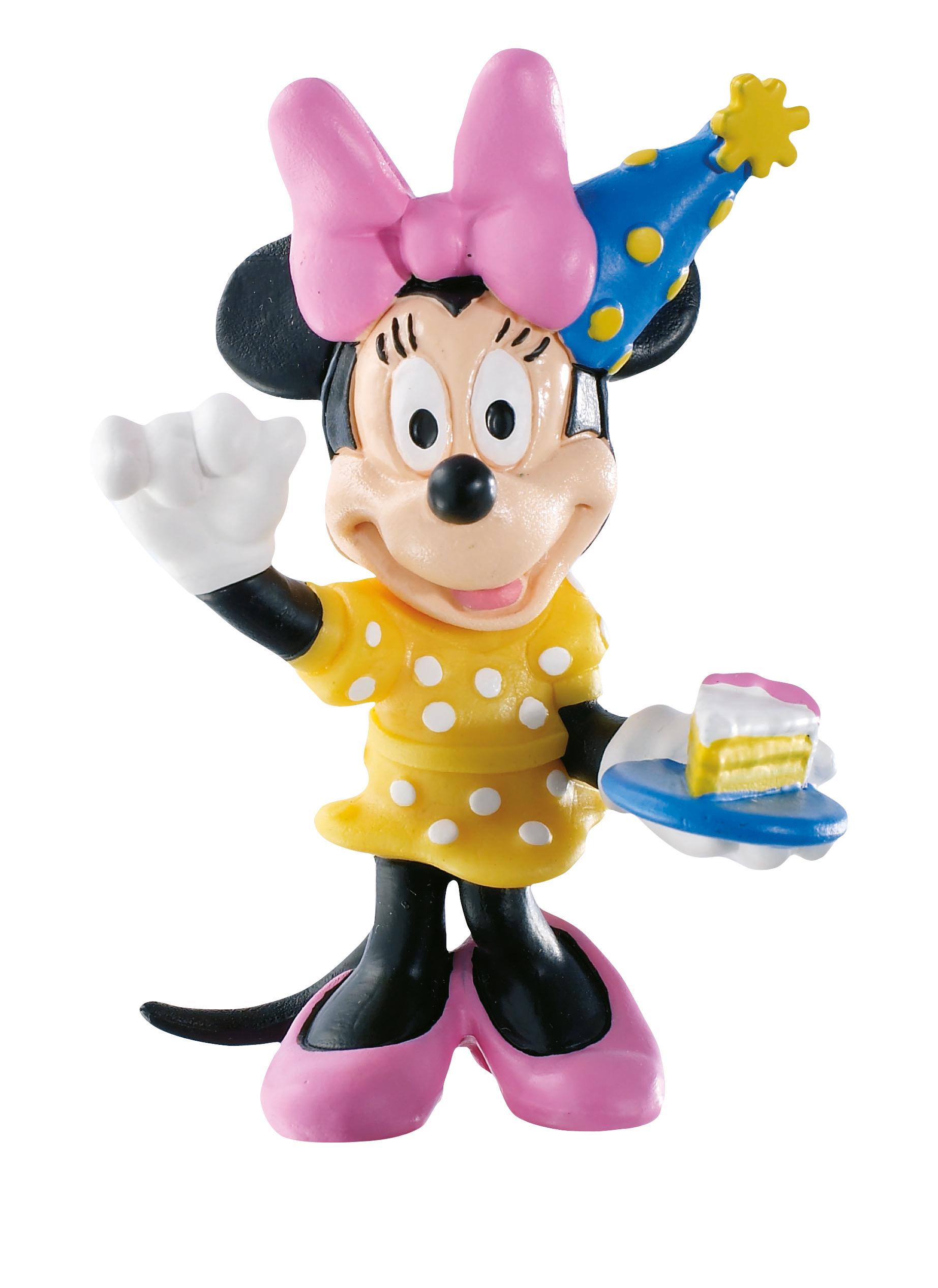 Figurine La Maison de Mickey Disney - Minnie anniversaire - 8 cm