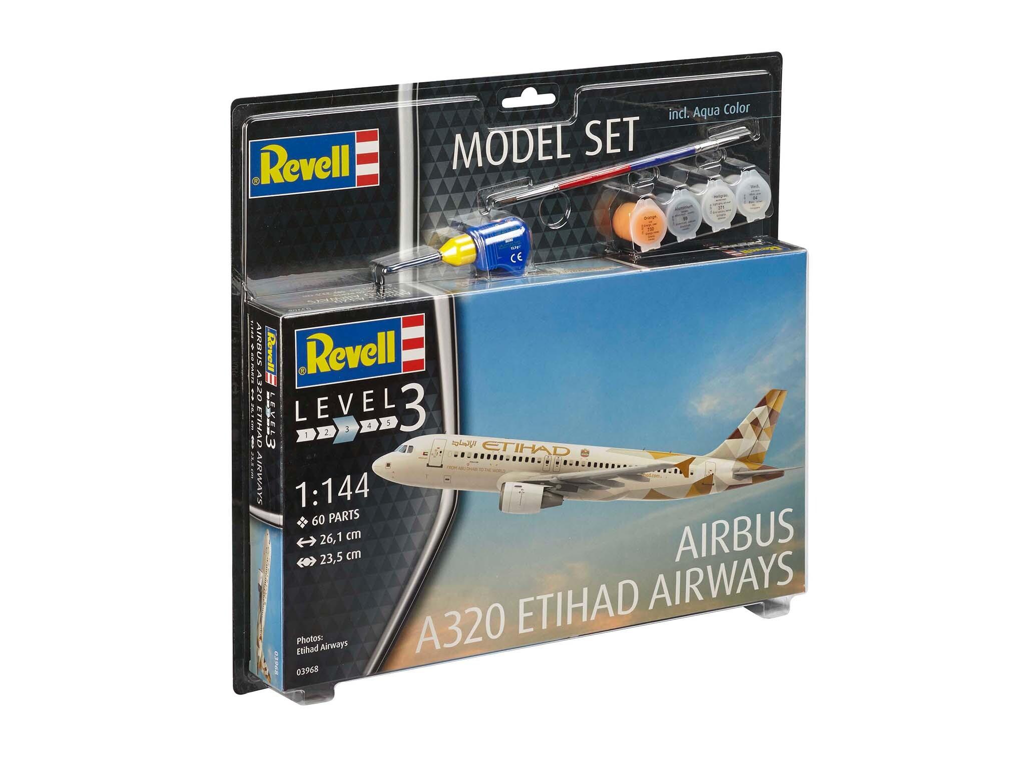 Model Set - maquette Airbus A320 Etihad