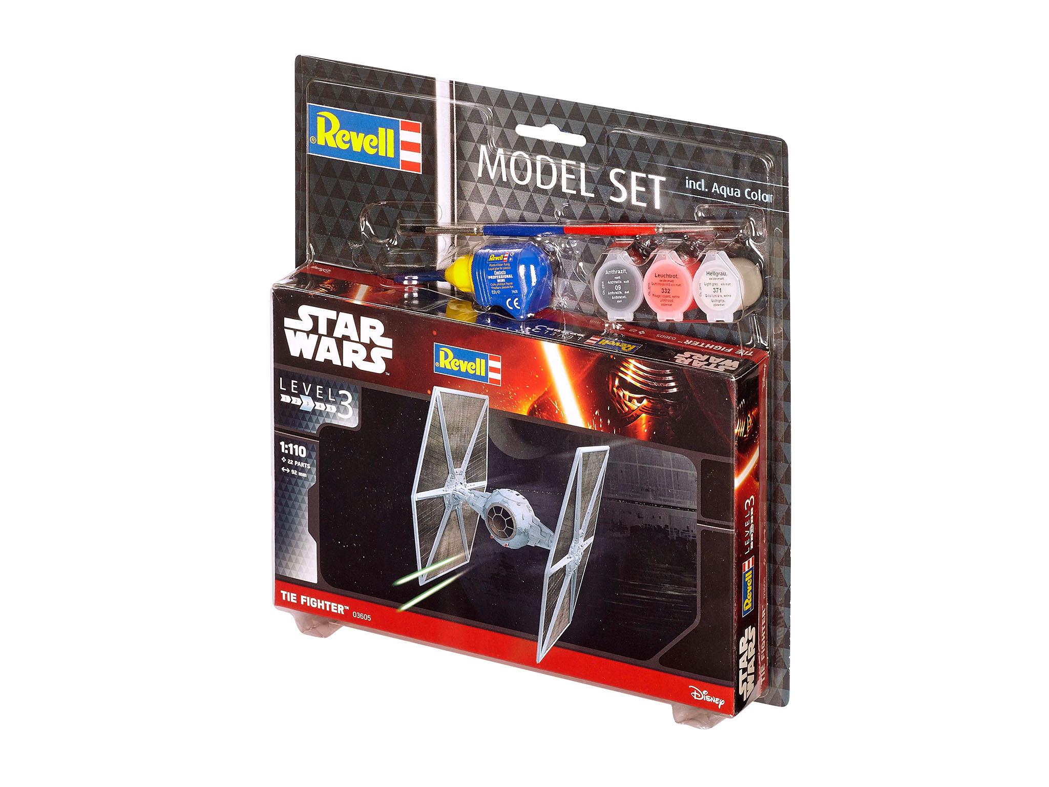 Model Set - maquette TIE Fighter