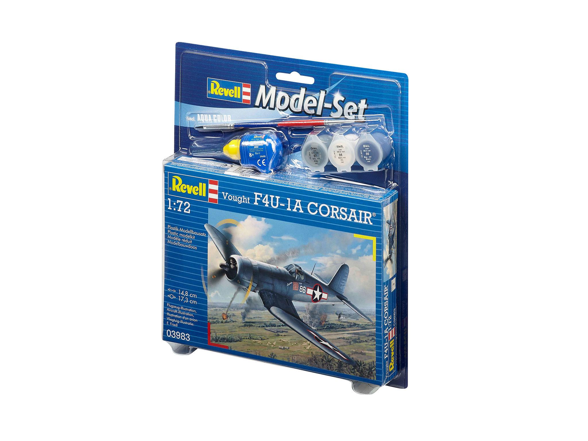 Model Set - maquette Vought F4U-1D Corsair