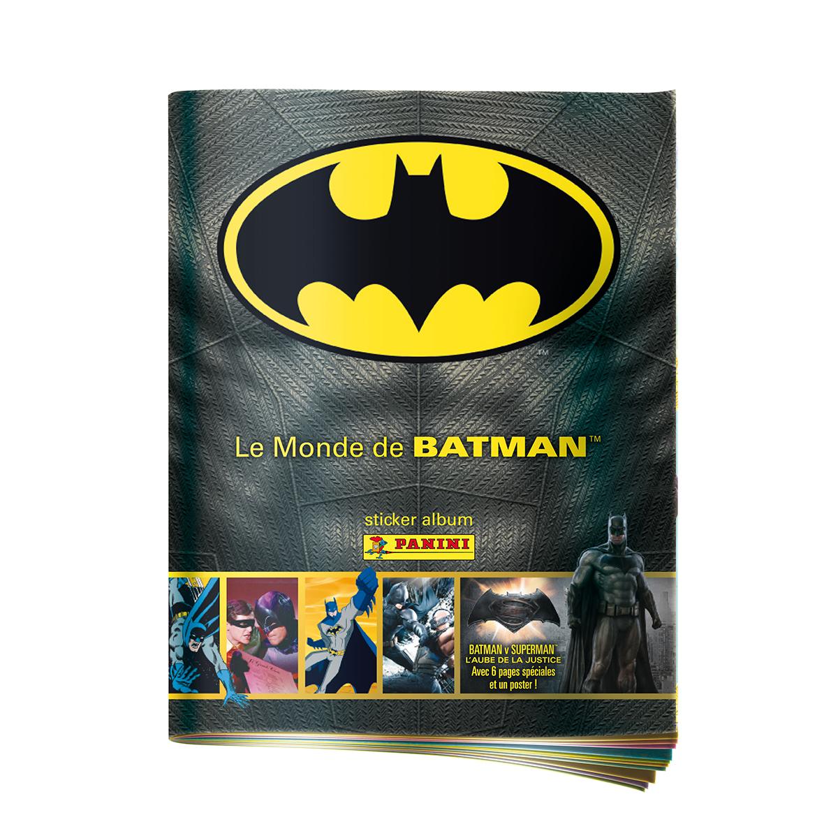 Album  Le monde de Batman - Panini