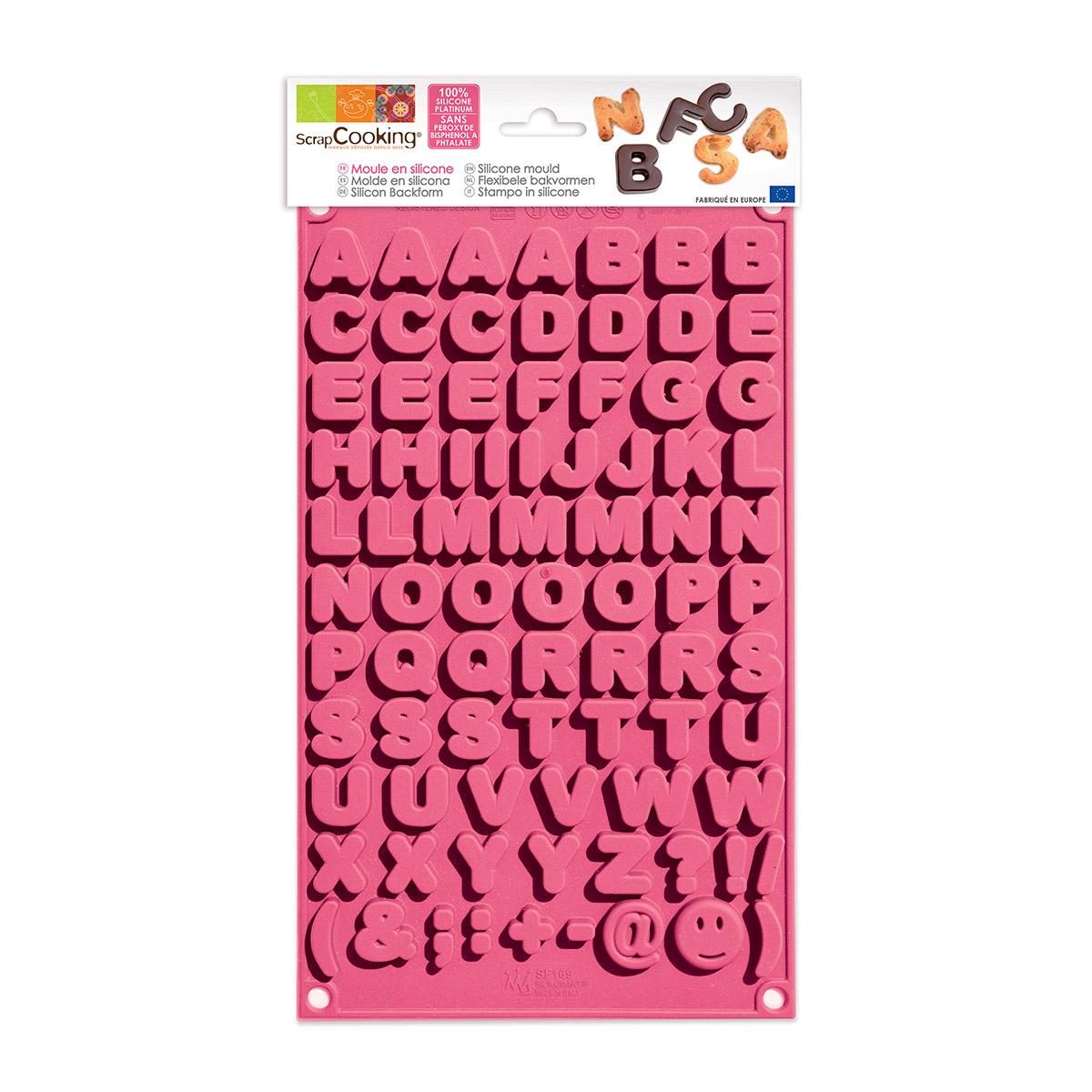 Image du produit Moule choco Alphabet - Scrapcooking