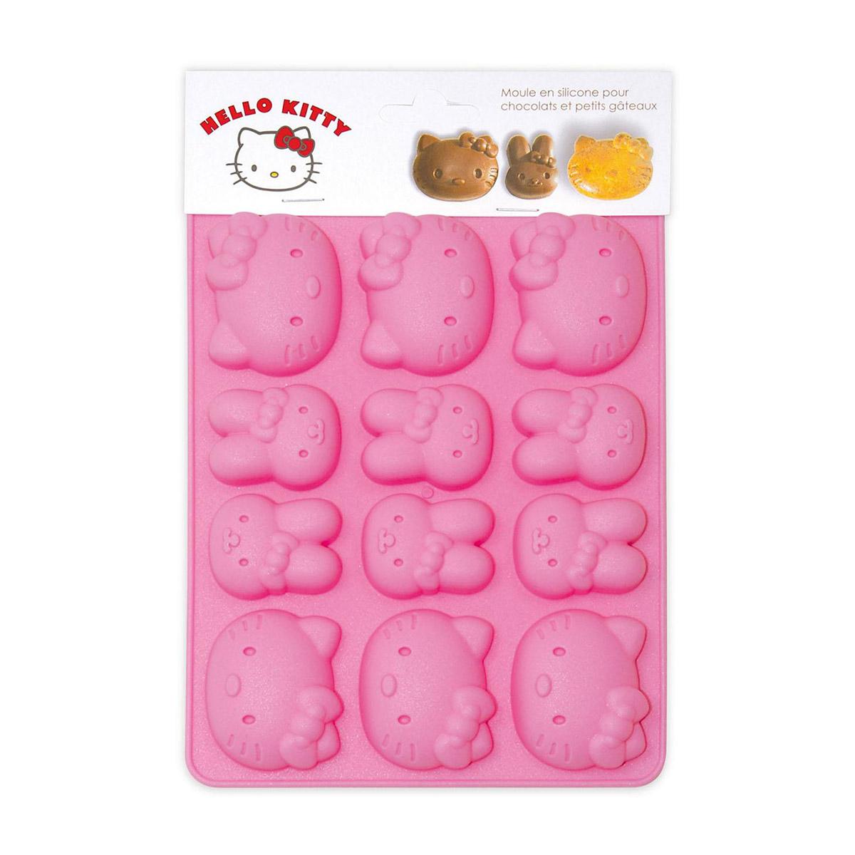 Image du produit Moule en silicone chocolats - Hello Kitty - Scrapcooking