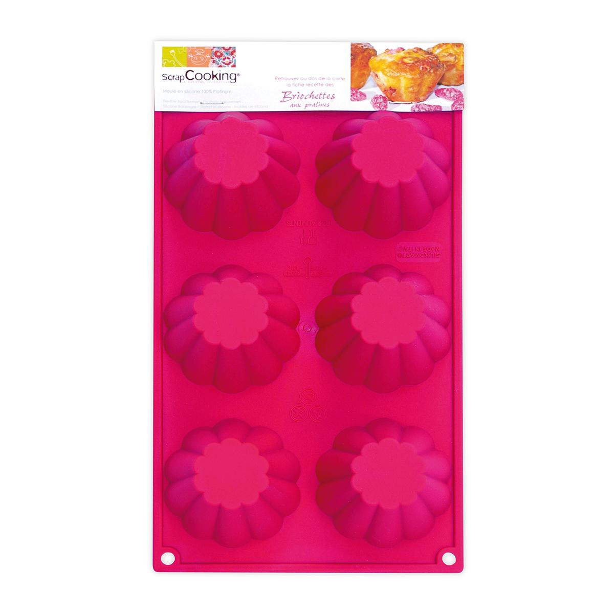 Image du produit Moules - 6 briochettes - Scrapcooking