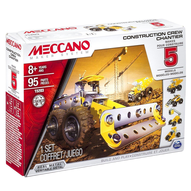 Chargeuse de carrière 5 modèles - Multimodels - Meccano