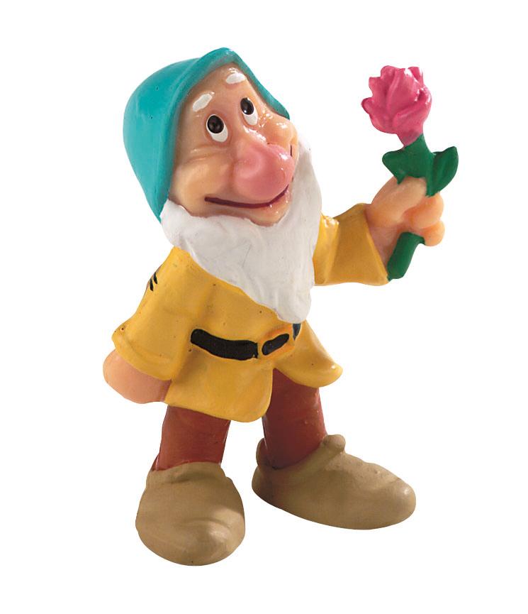 Figurine Blanche Neige Disney - Nain Timide - 6 cm