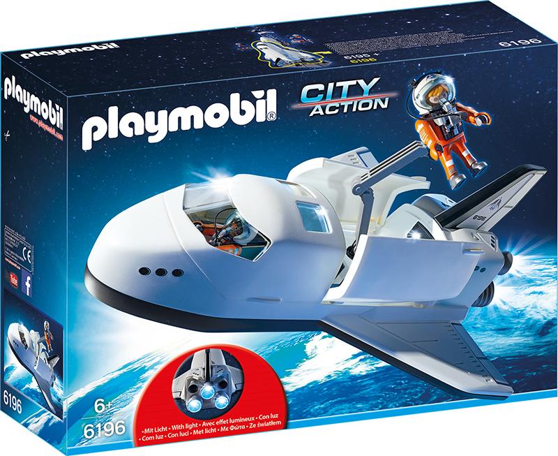 Navette spatiale et spationautes - Playmobil - 6196