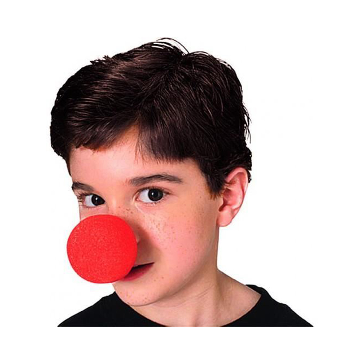 Nez de clown en mousse - rouge