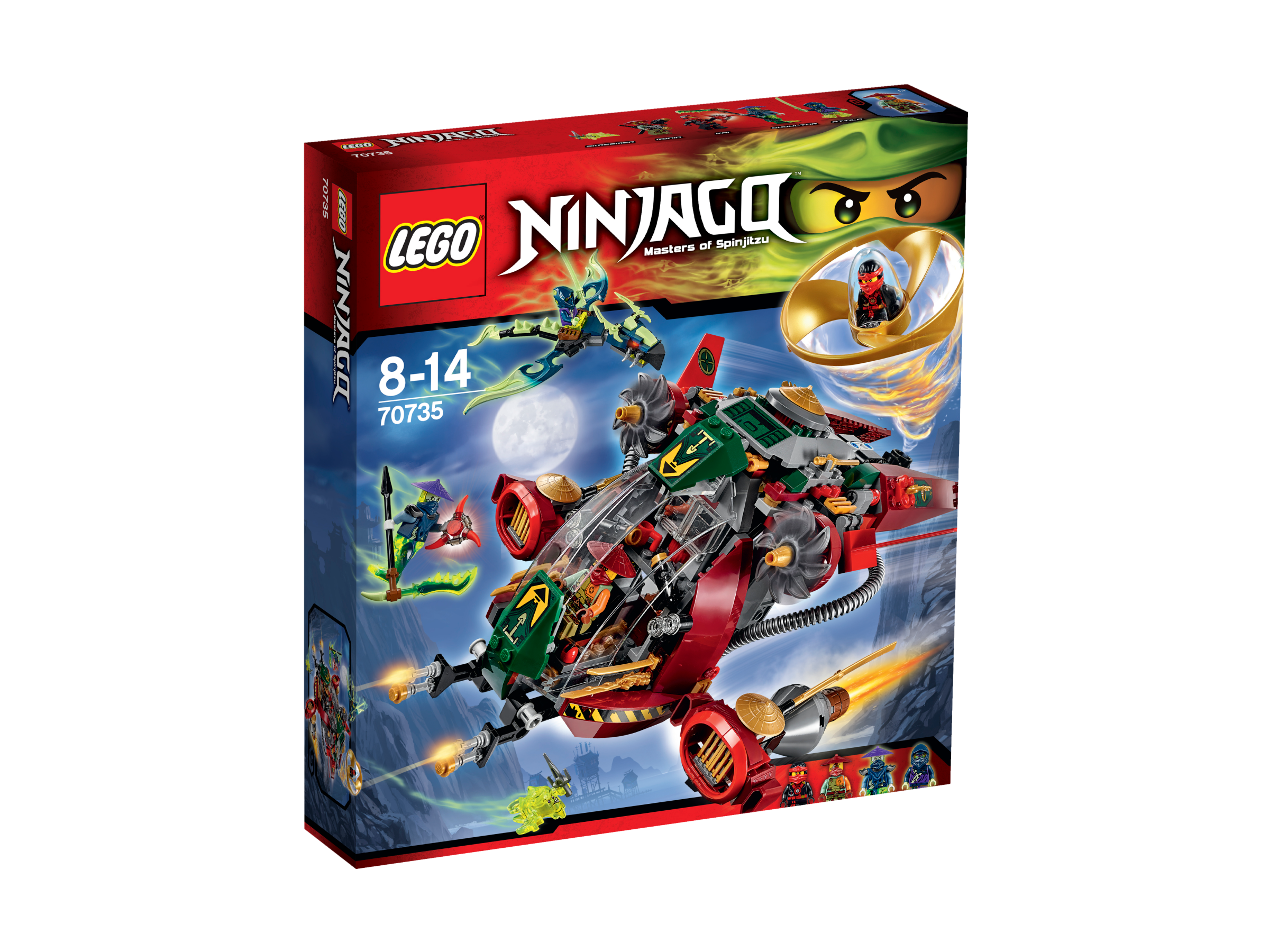 Le Jet hybride de Ronin - LEGO® NINJAGO - 70735