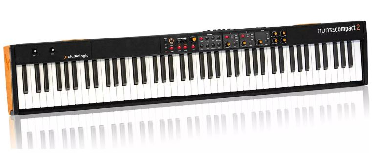 NUMA COMPACT 2 STUDIOLOGIC PIANO NUMERIQUE 88 NOTES