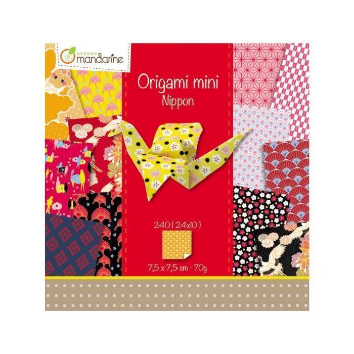 Papier Origami Mini - Nippon - Avenue Mandarine